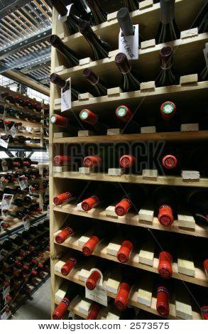 Aufbewahrungsraum für Wein
