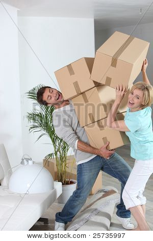 verrückte paar moving out