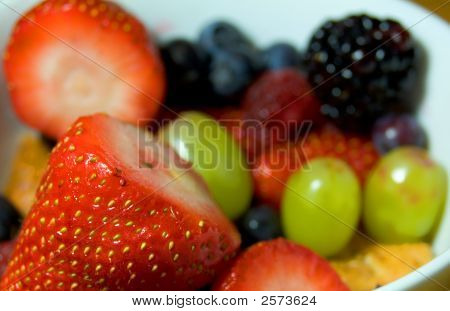 Strawberries And Other Fruit