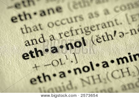 Dictionary Series - Environment: Ethanol