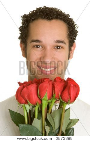 Romantic Valentines Man