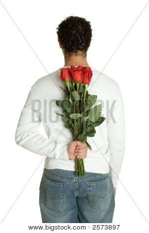 Romantic Rose Man