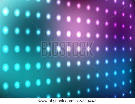 blau und Magenta Lichtwand Vektor Hintergrund.