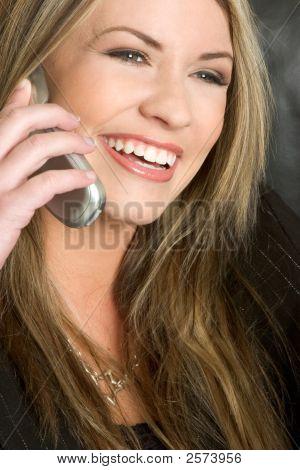 Happy On The Phone