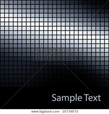 Metallic colored mosaic background.
