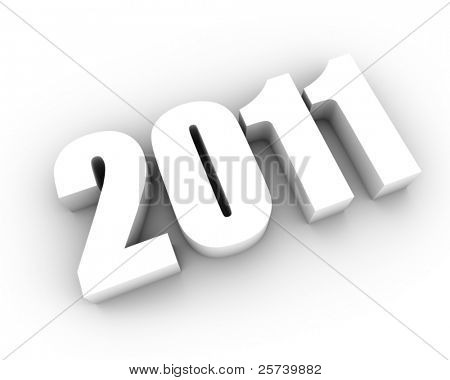New 2011 year background.
