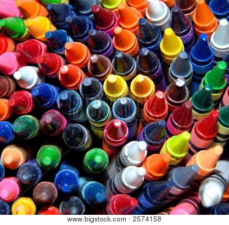Cache Of Crayons