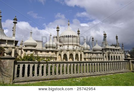 The Royal Pavilion in Brighton, England, UK