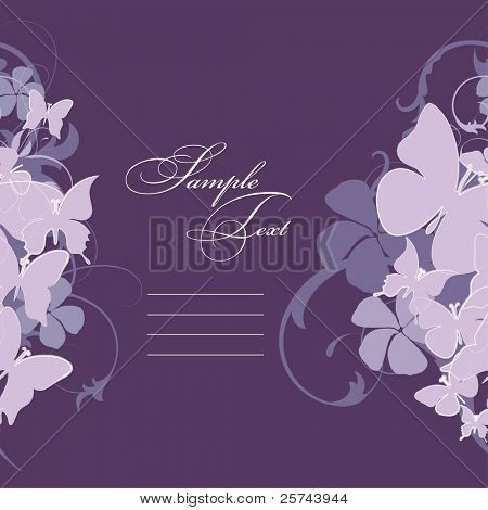 invitation card, vector