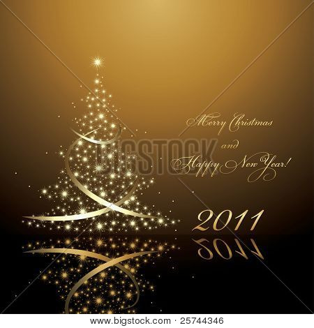 2011 new year card, vector AI8
