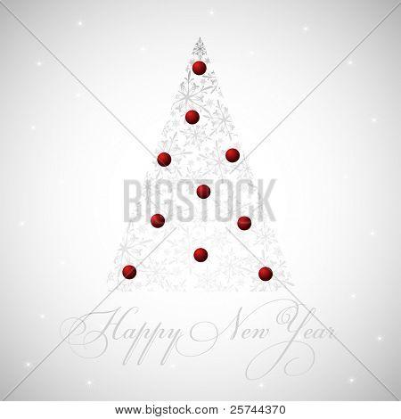 2011 new year card, vector EPS8