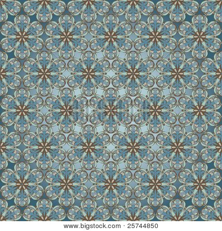 abstract vector seamless tiled pattern