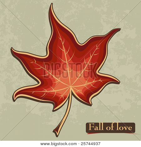 maple leaf conceptual  design