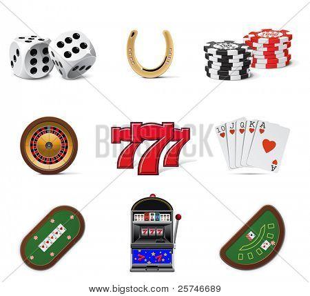 Ícones de Casino