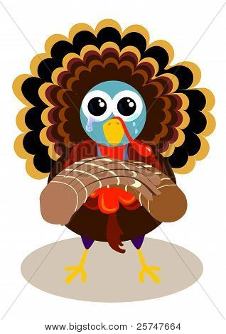 crying turkey