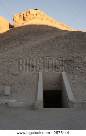 Valley Of The Kings In Egypt.