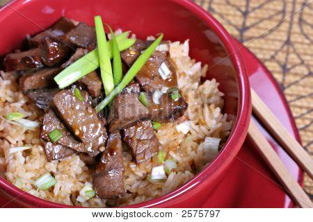 Beef Stir-Fry Rice