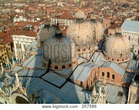 Roof Of Basilica Venice