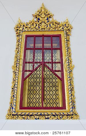 Golden Temple Window