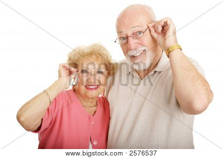 Optical Series - Couple With Glasses