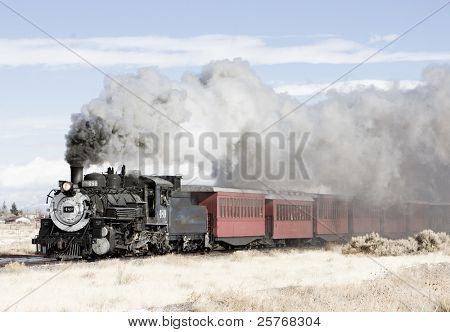 Cumbres y toltecas Narrow Gauge Railroad, Colorado, Estados Unidos