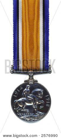 British War Medal, 1914 - 18 (Back)