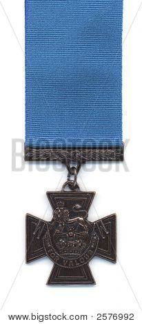 British Victoria Cross - Blue Ribbon