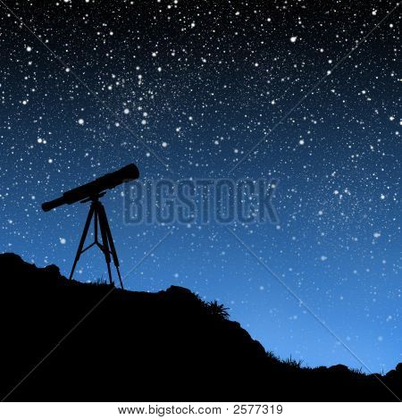 Telescope Under The Stars