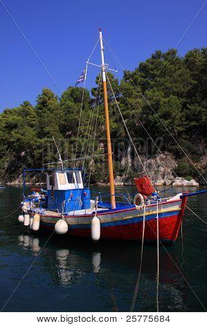 Paxos Gaios harbour