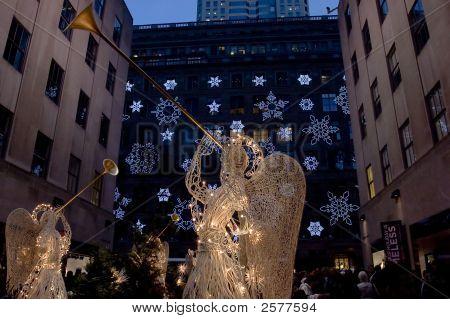 Angels At Rockefeller Center2_Filtered Copy