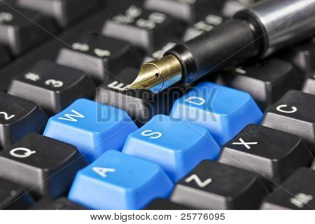 Keyboard And Pen
