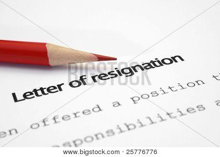 Rücktritt
