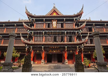 Wenshu Monastery In Chengdu