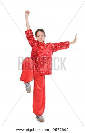 Kung Fu Girl High Stance