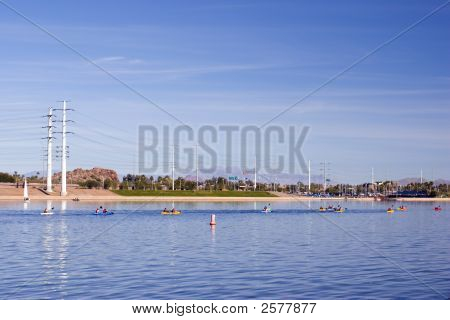 Lago de Tempe, Arizona