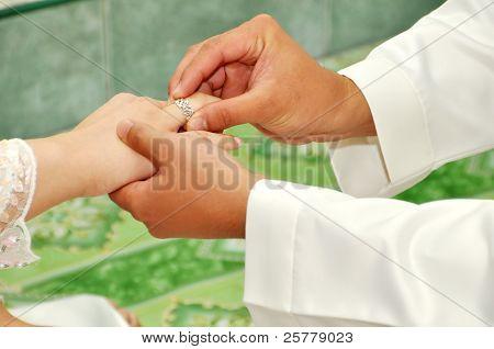 Anillo de bodas para ella