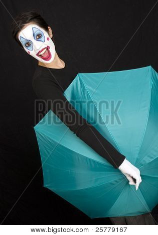 Umbrella Clown Style