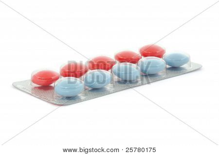 Blister Packs Of Pills