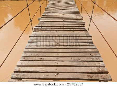 The Suspended Wooden Bridge