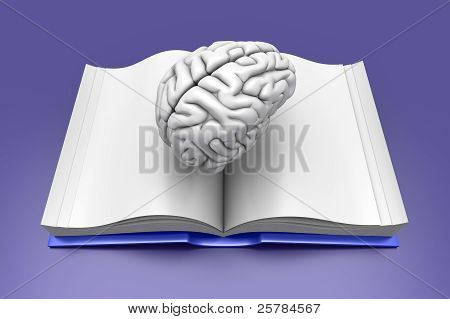 Gehirn-Buch.