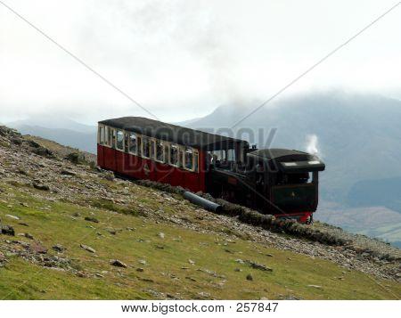 Mt Snowdon Steam Train