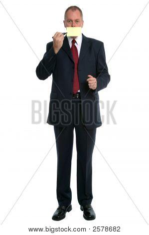 Businessman Mouth
