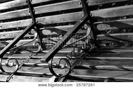 Dramatic bench