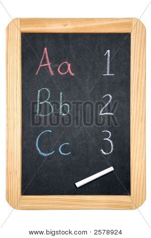 Abc/123 Blackboard