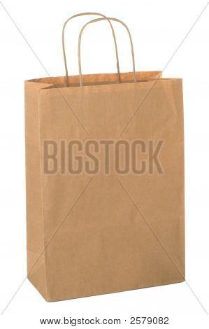 Brown Shopping Bag.