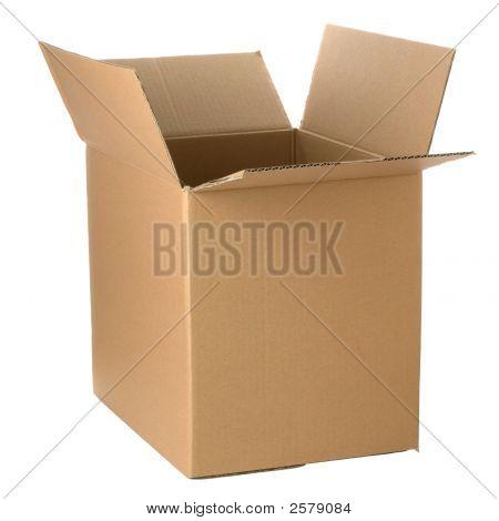 Abrir la caja de cartón