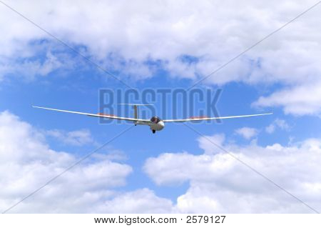 Glider In Flight