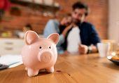 Savings And Home Budget Concept poster