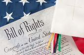 foto of bill-of-rights  - bill of rights next to Bible - JPG