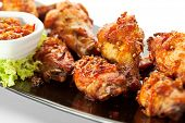 foto of curry chicken  - Hot Meat Dishes  - JPG